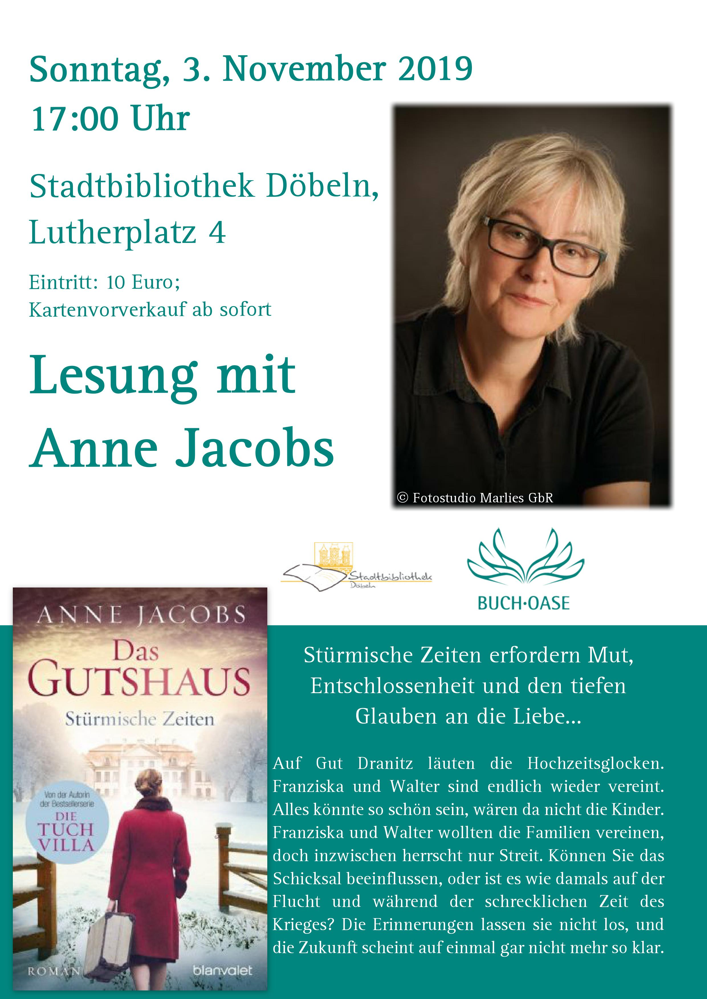 Flyer Anne Jacobs 3.11.19