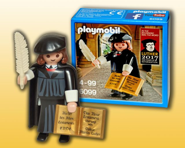 Playmobil Luther Gesamt